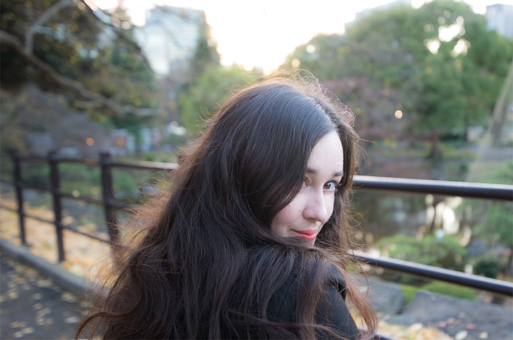 Girl in a japan